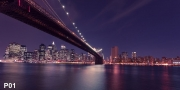 New York Skyline XXL Wandbild P01