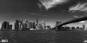 New York Skyline XXL Wandbild P03