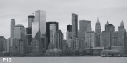 New York Skyline XXL Wandbild P13