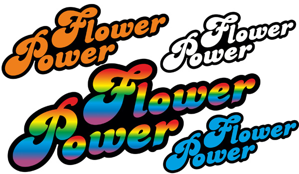 autoaufkleber aufkleber hippie blumen reserveradcover flower power love and peace hippie. Black Bedroom Furniture Sets. Home Design Ideas