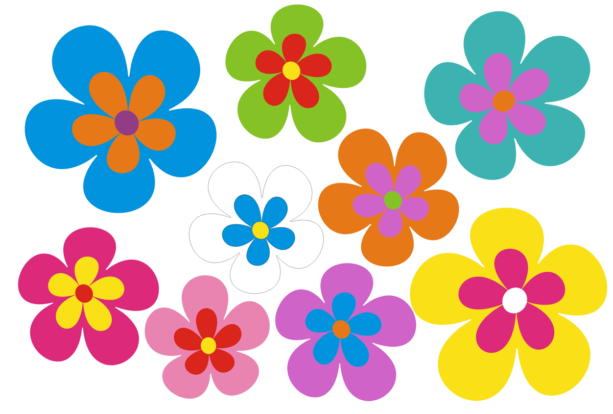 Butterfly And Flower Wall Stickers Autoaufkleber Aufkleber Hippie Blumen Reserveradcover