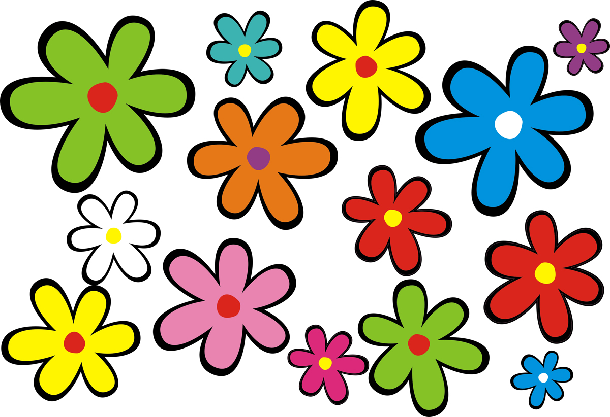 Simple Flower Art Design
