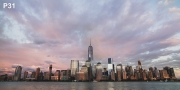 New York Skyline XXL Wandbild P31